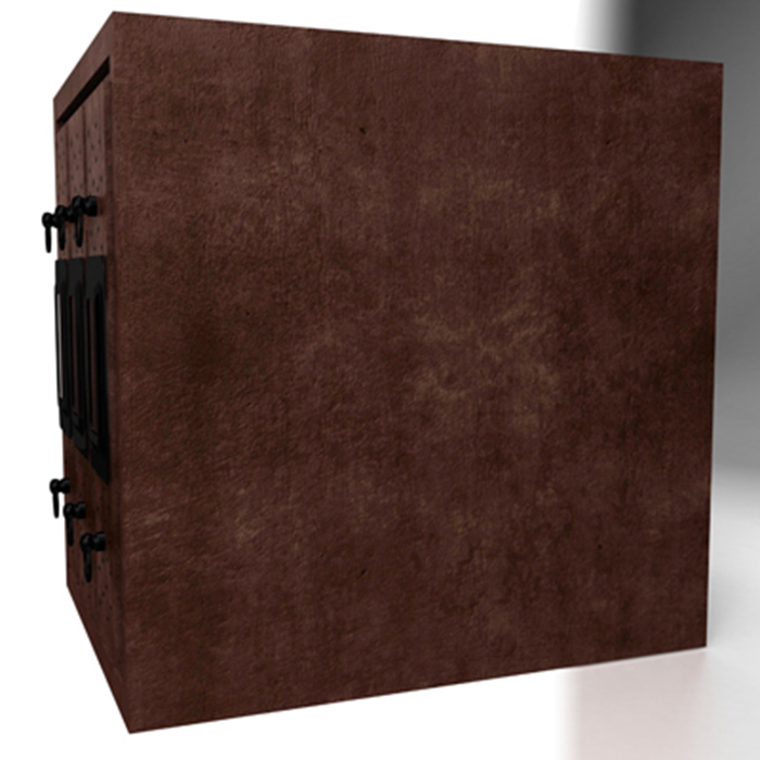 filing cabinet 3d model 3ds max fbx ma mb obj 155524