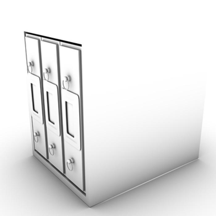 filing cabinet 3d model 3ds max fbx ma mb obj 155527