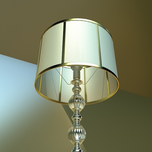 floor lamp 07 constaletti 3d model 3ds max fbx obj 135225