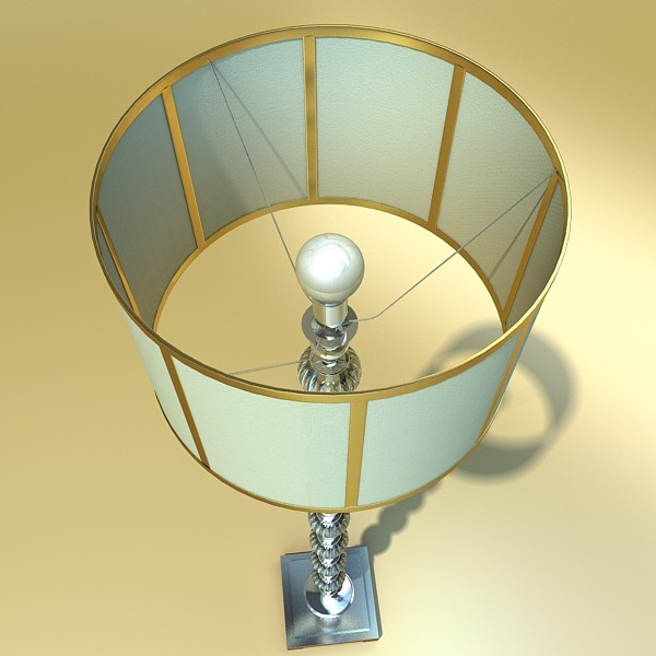 floor lamp 07 constaletti 3d model 3ds max fbx obj 135226