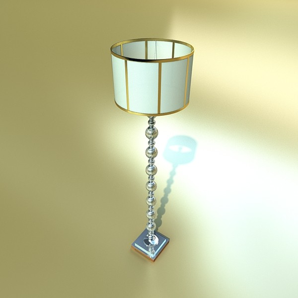 floor lamp 07 constaletti 3d model 3ds max fbx obj 135229