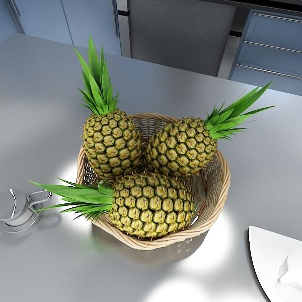 fruits & basket collection 3d model 3ds max fbx obj 133824