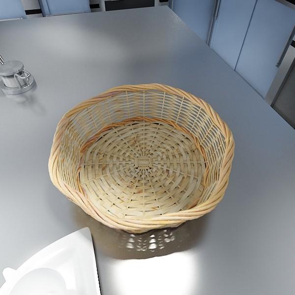 fruits & basket collection 3d model 3ds max fbx obj 133836