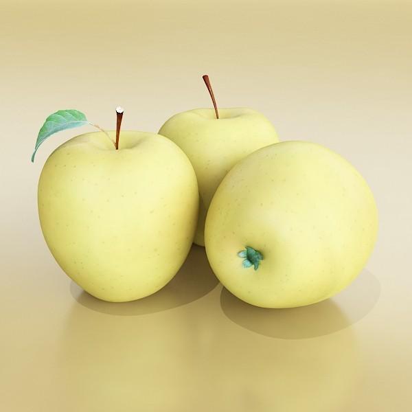fruits collection high res textures 17 3d model 3ds max fbx obj 133236
