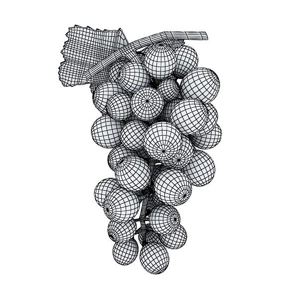 fruits collection high res textures 17 3d model 3ds max fbx obj 133273