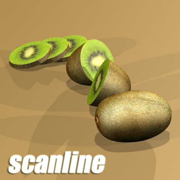 fruits collection high res textures 17 3d model 3ds max fbx obj 133290