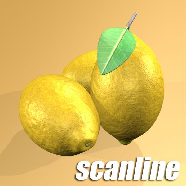 fruits collection high res textures 17 3d model 3ds max fbx obj 133298