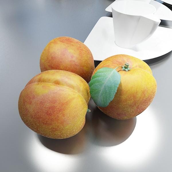 fruits collection high res textures 17 3d model 3ds max fbx obj 133321