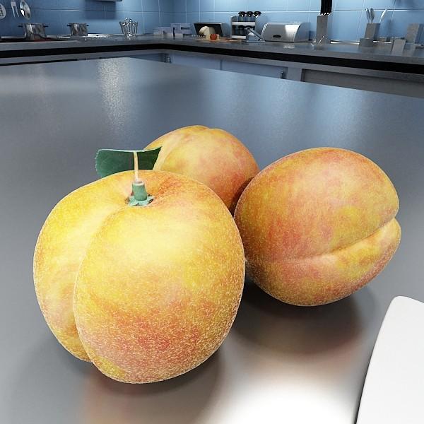 fruits collection high res textures 17 3d model 3ds max fbx obj 133322