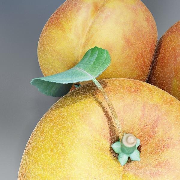 fruits collection high res textures 17 3d model 3ds max fbx obj 133323