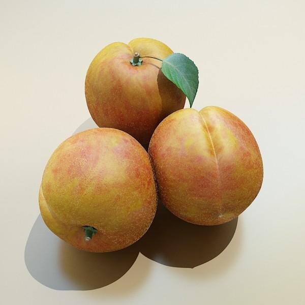 fruits collection high res textures 17 3d model 3ds max fbx obj 133324