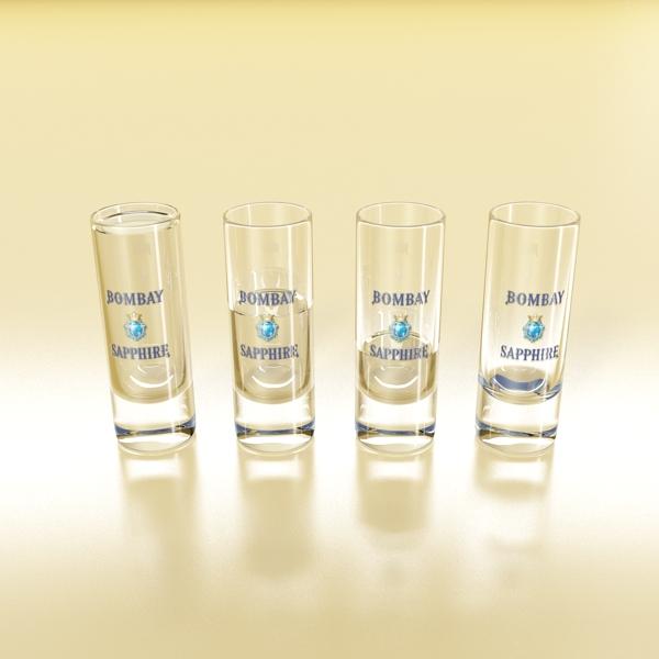 gin shot glass 3d загвар 3ds max fbx obj 138635