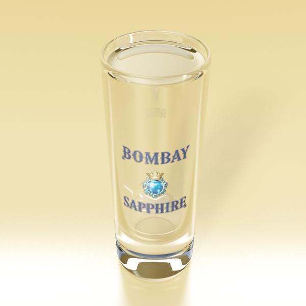 gin shot glass 3d загвар 3ds max fbx obj 138636