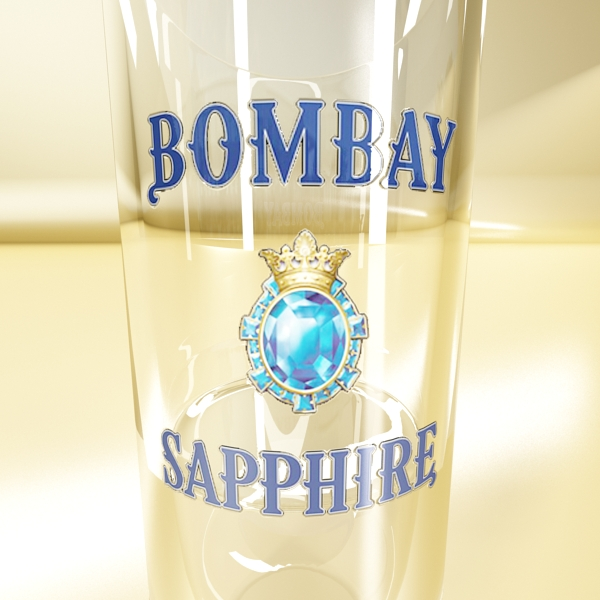 gin shot glass 3d загвар 3ds max fbx obj 138637