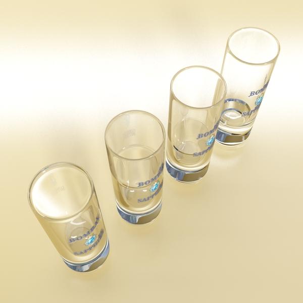 gin shot glass 3d загвар 3ds max fbx obj 138639