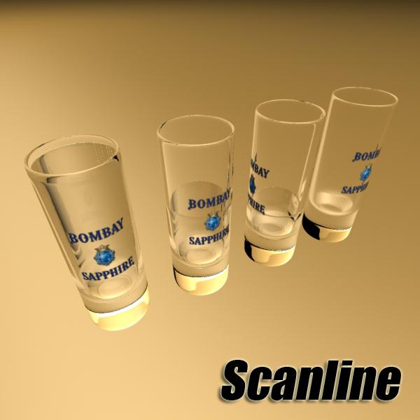 gin shot glass 3d загвар 3ds max fbx obj 138645