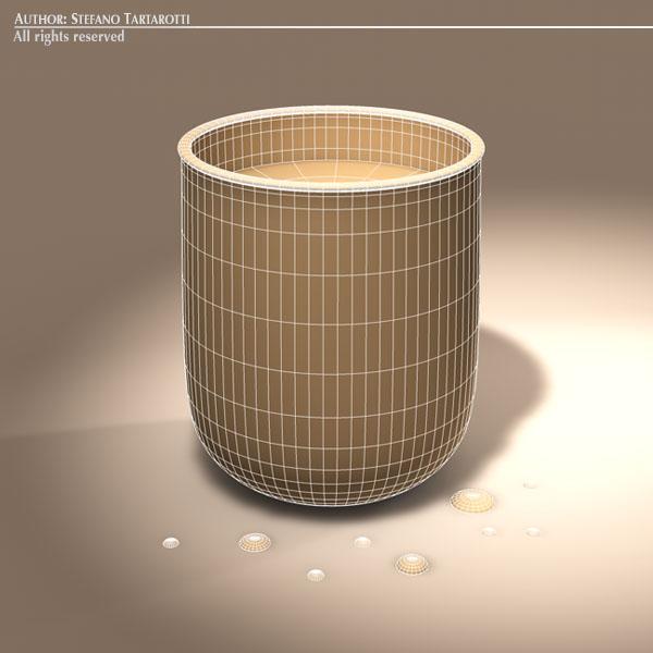 glass of water 3d model 3ds dxf fbx c4d dae obj 129269