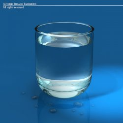 Glass of Water ( 47.27KB jpg by tartino )