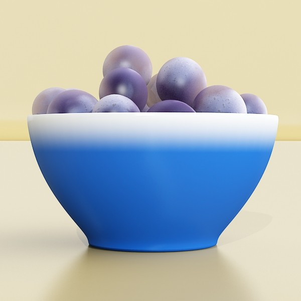 grapes collection high detailed 3d model 3ds max fbx obj 134028