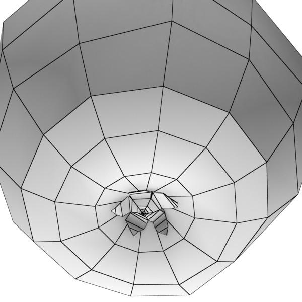 zaļš ābolu augsts detalizēts 3d modelis 3ds max fbx obj 132706