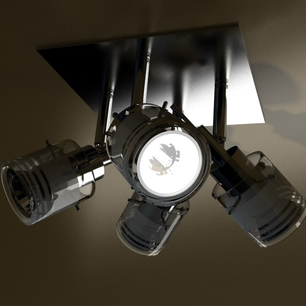 галоген таазны гэрэл 08 фотокал 3d загвар 3ds max fbx obj 134673