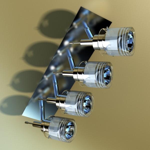 галоген таазны гэрэл 08 фотокал 3d загвар 3ds max fbx obj 134679