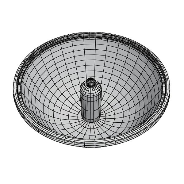 halogen ceiling light 08 photoreal 3d model 3ds max fbx obj 134689