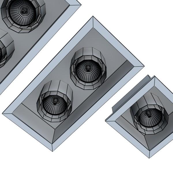 halogena lampa 07 fotoreal 3d model 3ds max fbx obj 134622