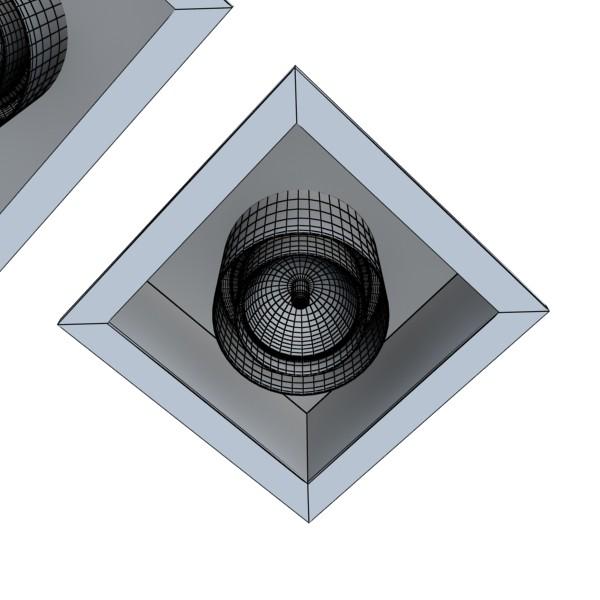 halogena lampa 07 fotoreal 3d model 3ds max fbx obj 134623