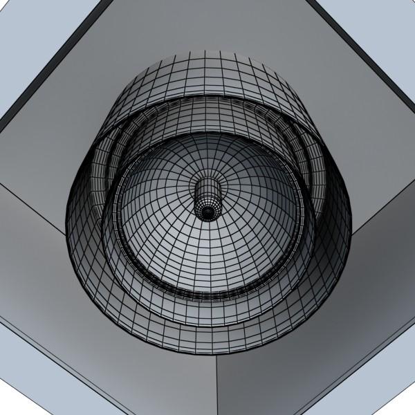 halogena lampa 07 fotoreal 3d model 3ds max fbx obj 134624