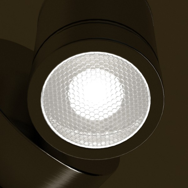 halogen lamp 09 photoreal 3d model 3ds max fbx obj 134696