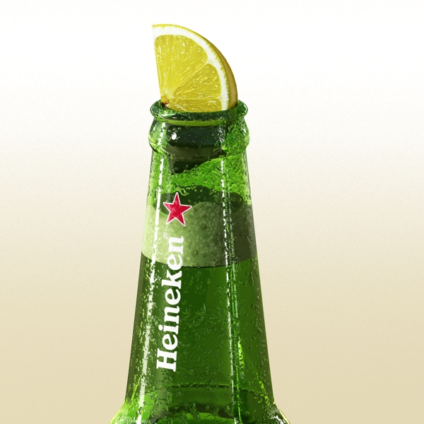 heineken beer bottle 3d model 3ds max fbx obj 141603