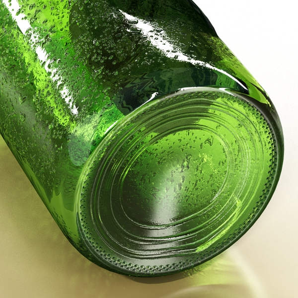 heineken beer bottle 3d model 3ds max fbx obj 141607