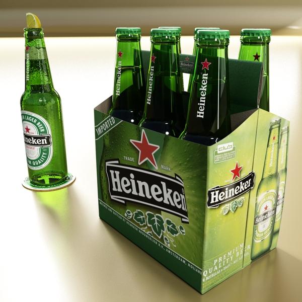 Heineken pivə toplama 3d modeli 3ds max fbx obj 141871
