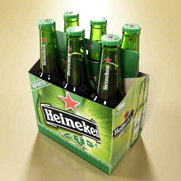 Heineken pivə toplama 3d modeli 3ds max fbx obj 141872