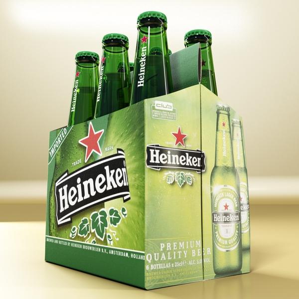 Heineken pivə toplama 3d modeli 3ds max fbx obj 141873