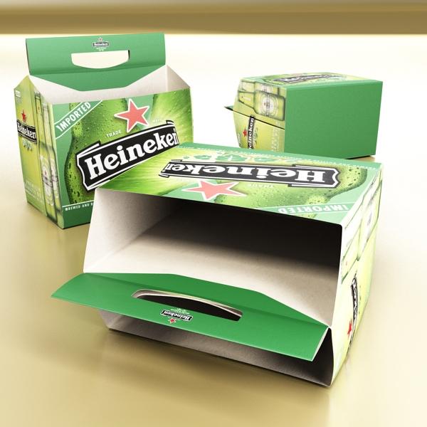 Heineken pivə toplama 3d modeli 3ds max fbx obj 141874