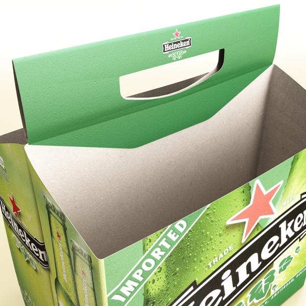 Heineken pivə toplama 3d modeli 3ds max fbx obj 141875