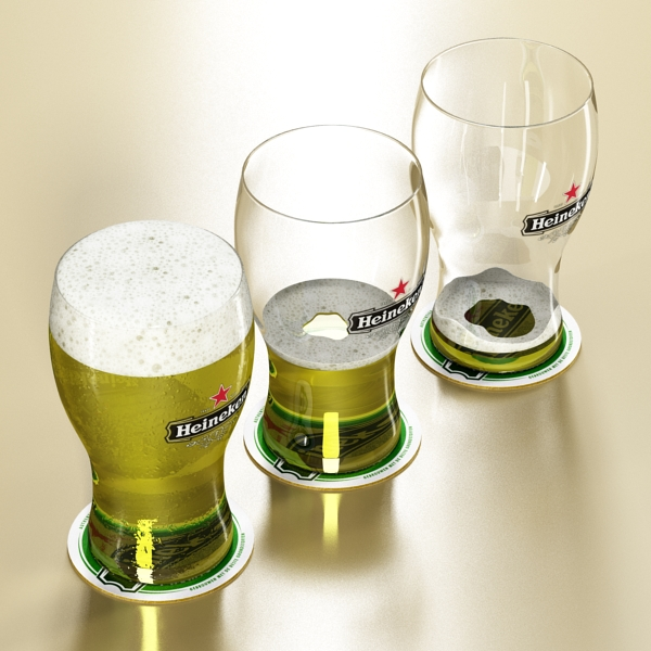 Heineken pivə toplama 3d modeli 3ds max fbx obj 141893