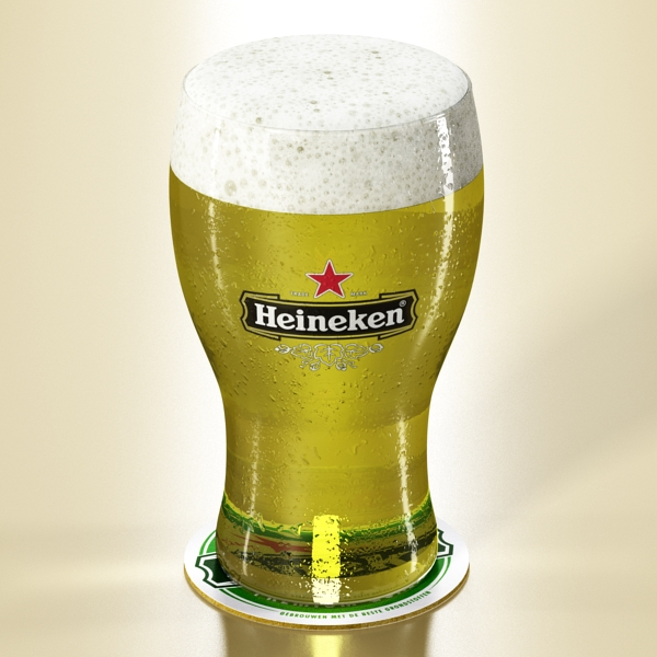 Heineken pivə toplama 3d modeli 3ds max fbx obj 141894