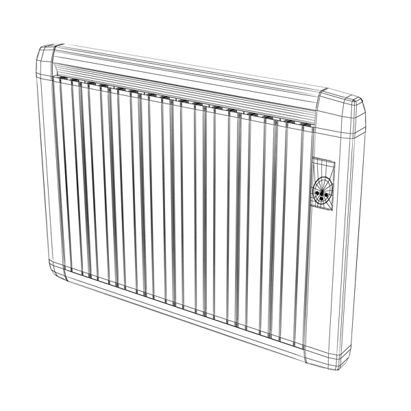 high detailed radiator 5 3d model 3ds max fbx obj 148547