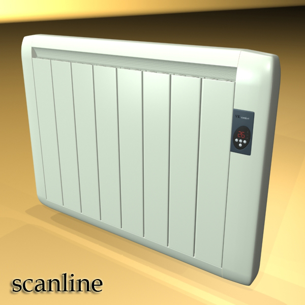 high detailed radiator 5 3d model 3ds max fbx obj 148548