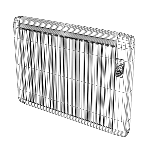 high detailed radiator 5 3d model 3ds max fbx obj 148549