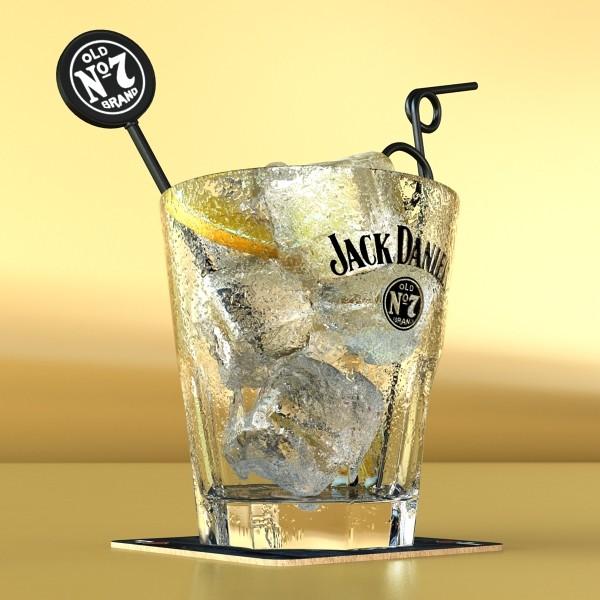 jack daniels kolekcija 3d model 3ds max fbx obj 135938