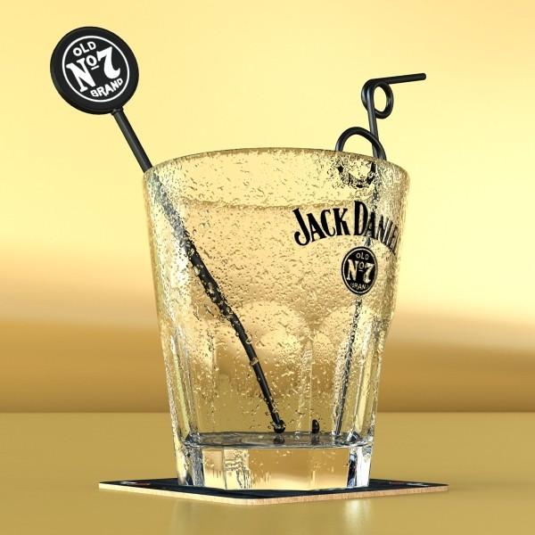 jack daniels kolekcija 3d model 3ds max fbx obj 135940