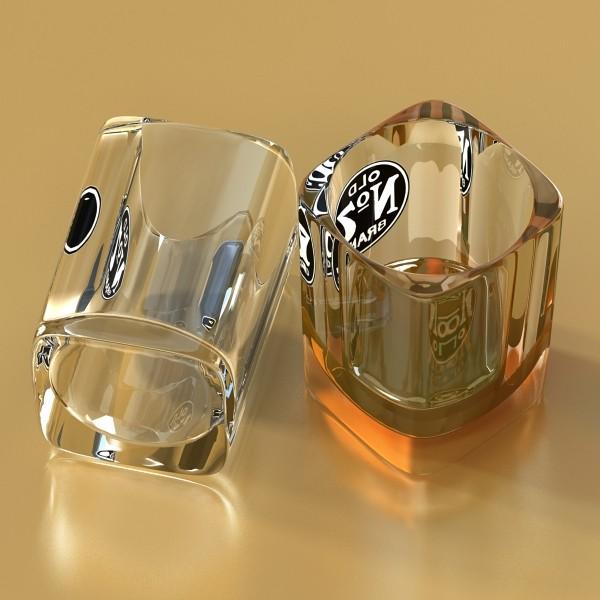 jack daniels kolekcija 3d model 3ds max fbx obj 135944