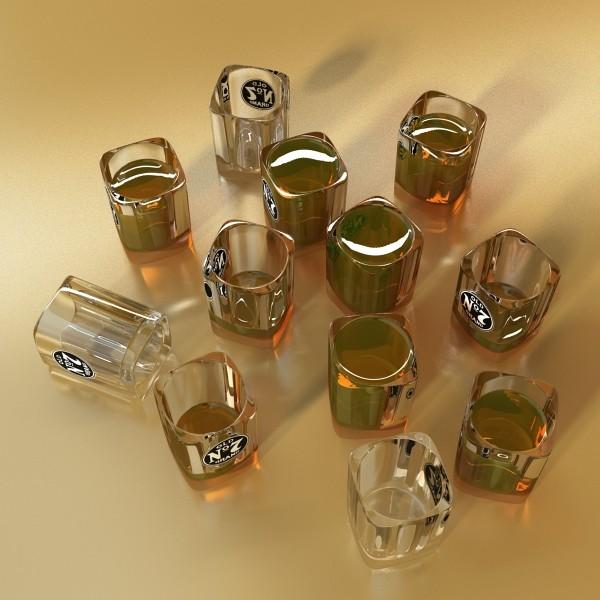 jack daniels kolekcija 3d model 3ds max fbx obj 135947