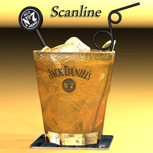 jack daniels kolekcija 3d model 3ds max fbx obj 135960