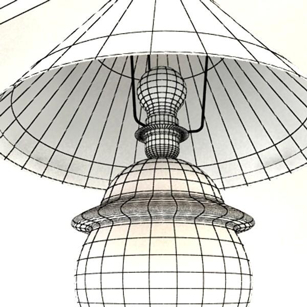 little table lamp 3d model 129734