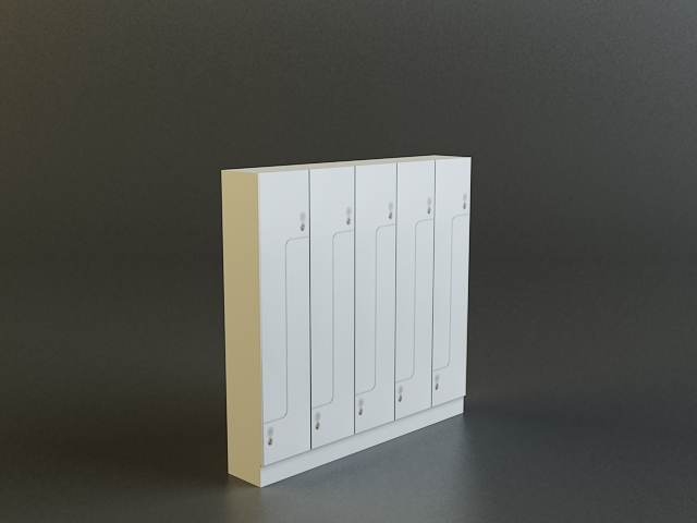 locker 3d model 3ds max obj 139110
